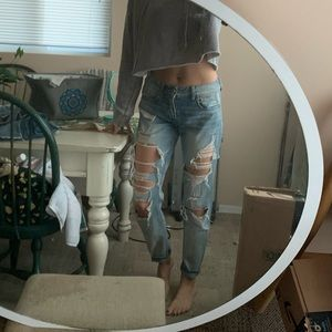 Tomgirl distressed jeans